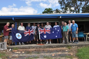 New Flags for the Men's Shed