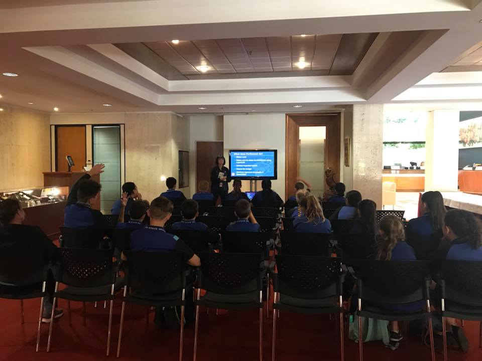 Coomera State School Parliament Visit