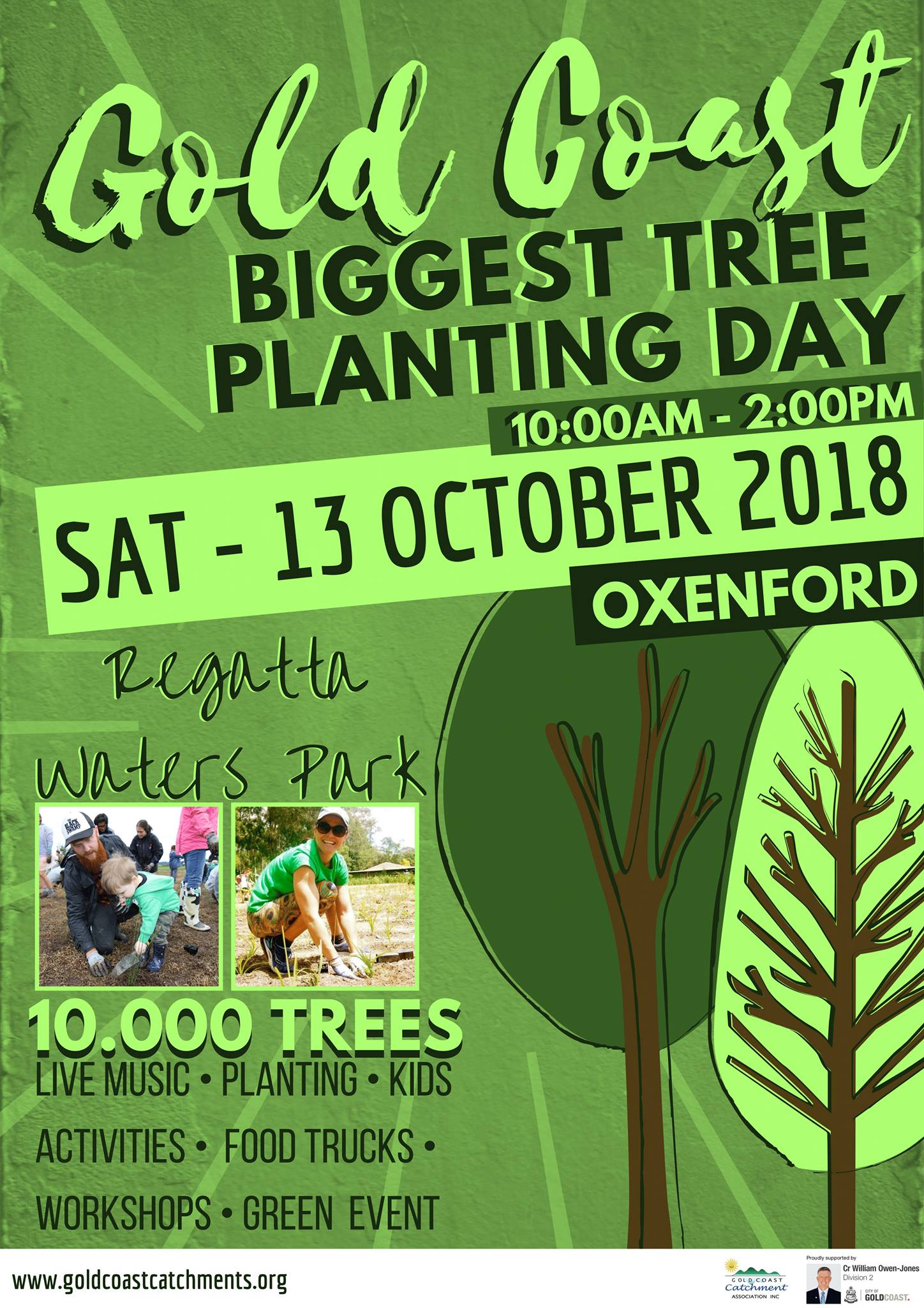 Gold Coast Biggest Tree Planting Day