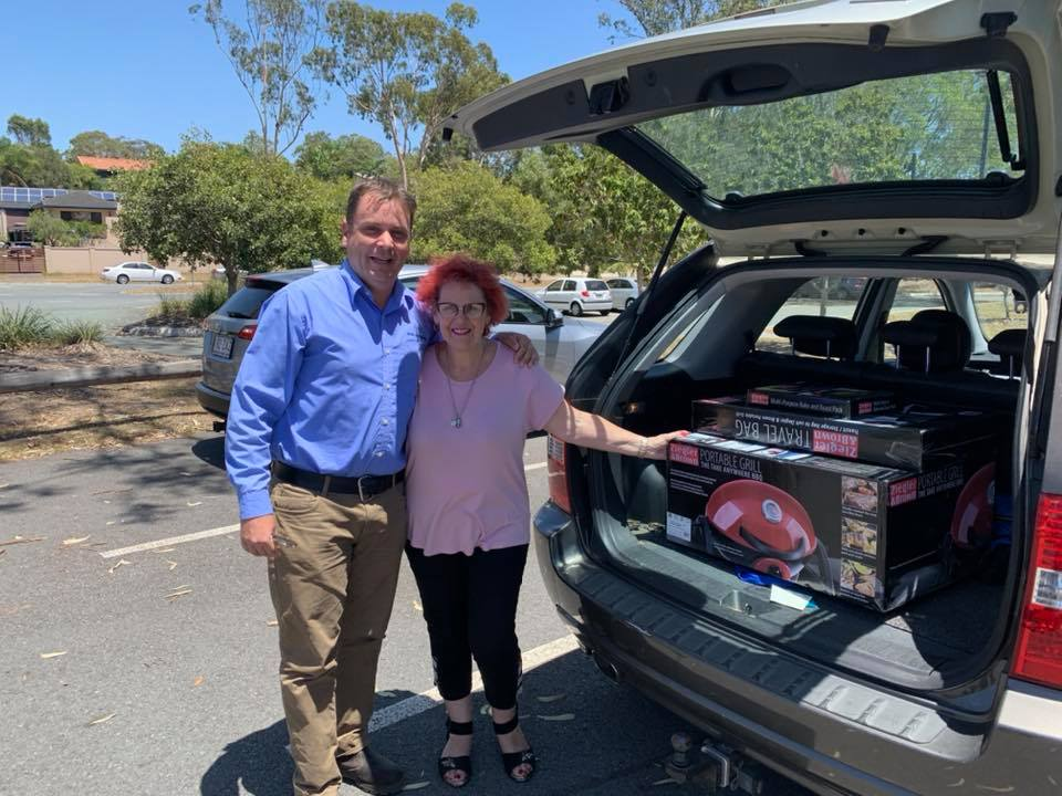 Helensvale Red Cross Christmas Raffle Donation