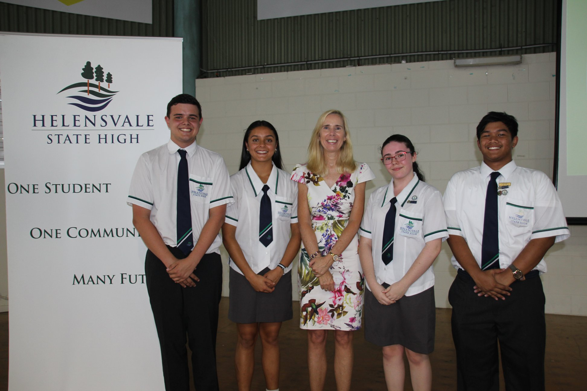 Helensvale State High School 2019 School Captians