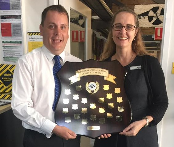 New Shield for Beenleigh Special School