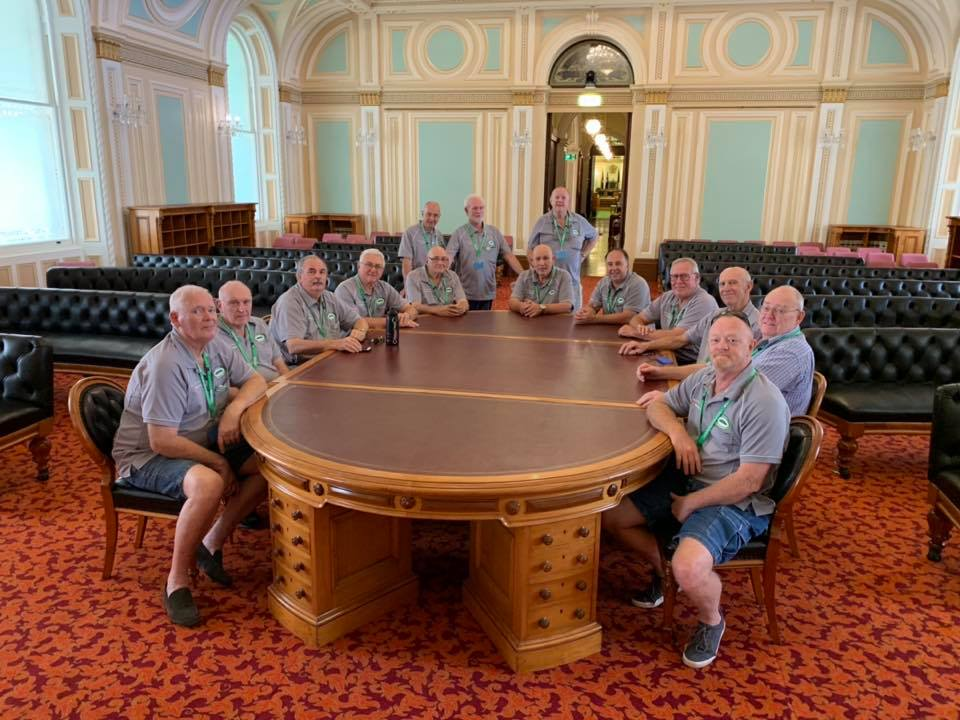 Oxenford Men's Shed Visit Parliament House