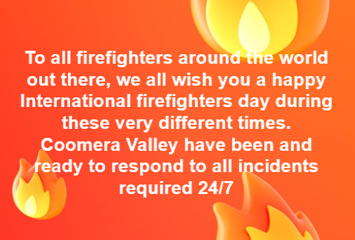 Thank You To Our Rural Fire Brigades
