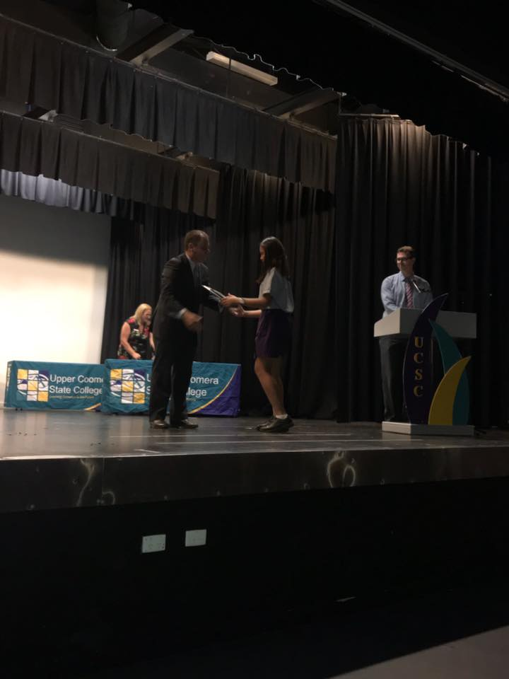 Upper Coomera State College Primary Awards 2018